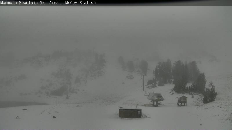 Mammoth today at 8am.