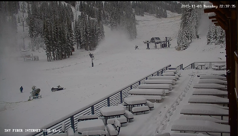 Mt. Rose today 9am.