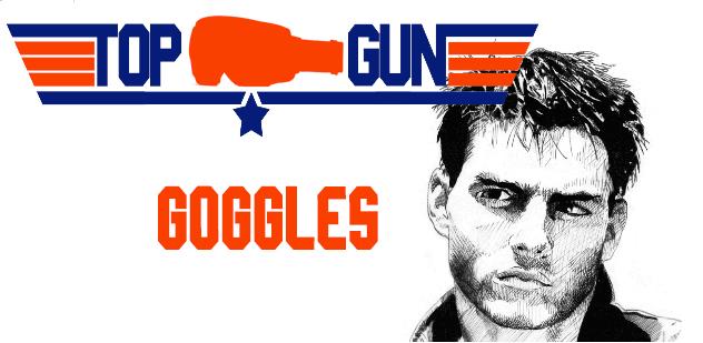 top gun goggles
