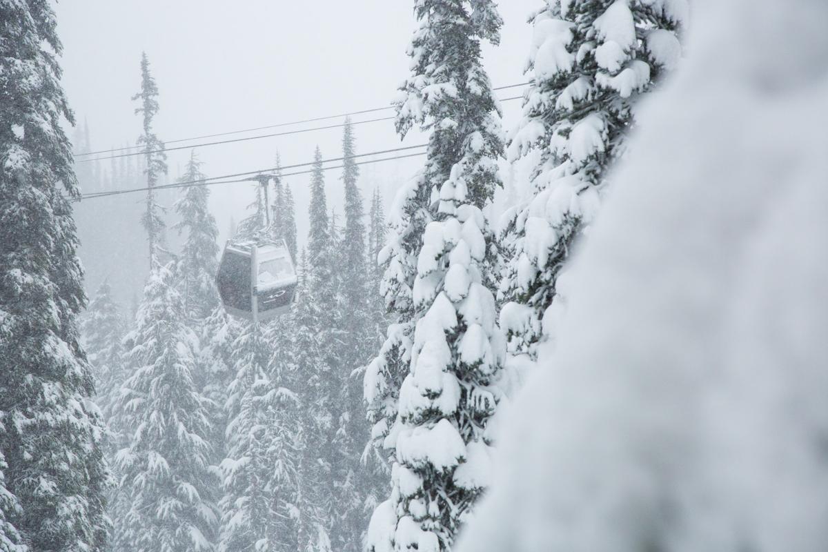 Whistler, B.C. today. photo; Mitch Winton at Coast Mountain Photography