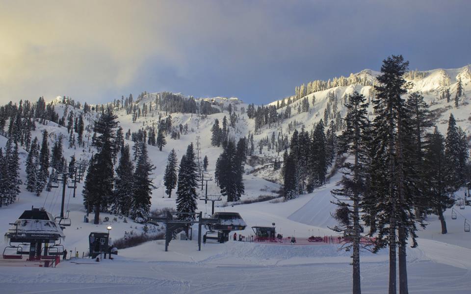 Alpine Meadows, CA. Yesterday. photo: alpine