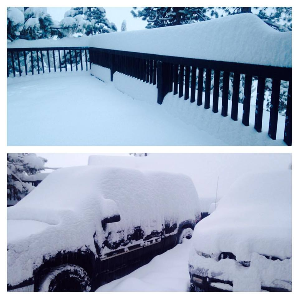 Squaw Valley at 7am today.  photo:  brand walsh realty