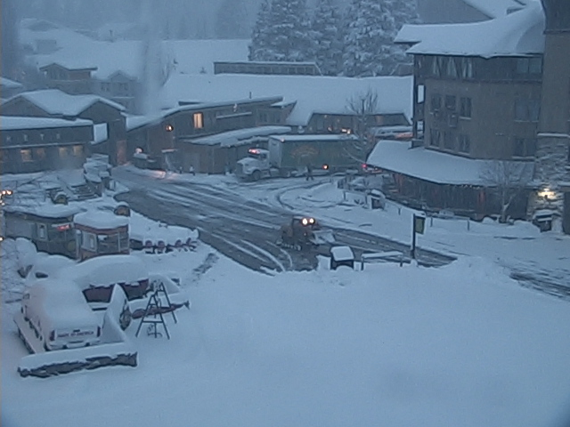 Squaw Valley, CA today at 7:30am.