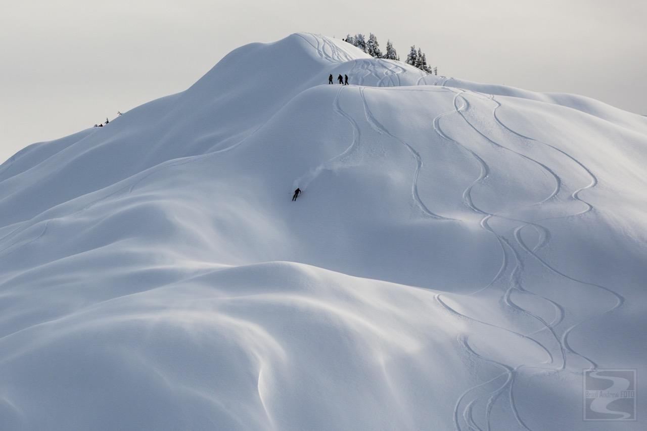 Mt. Baker backcountry on December 11th, 2015. photo: brad andrew