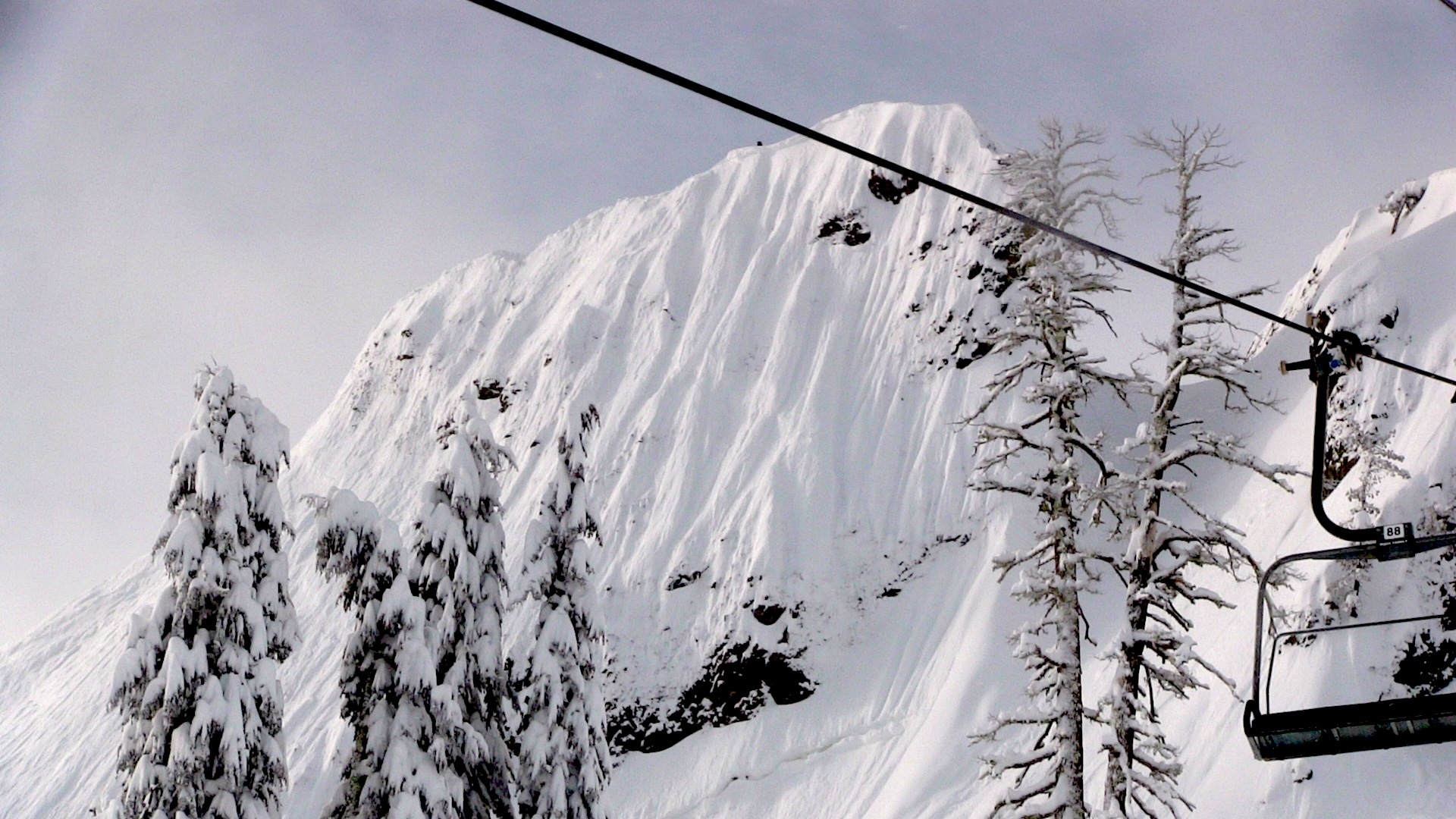 McConkey's (Eagle's Nest) at Squaw Valley in 2011. photo: miles clark/snowbrains