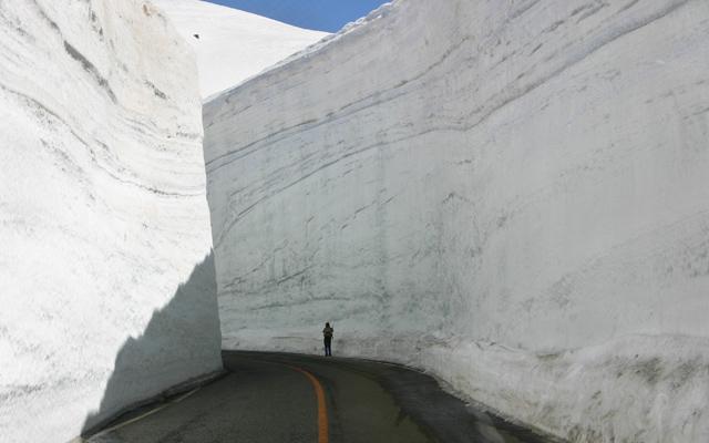 Tateyama Kurobe Alpine Route, Honshu, Japan.