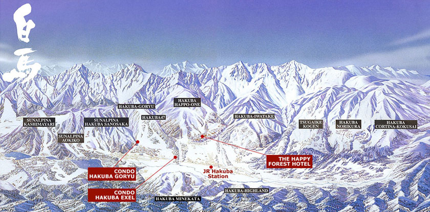 12 ski resorts in the very small Hakuba valley alone...