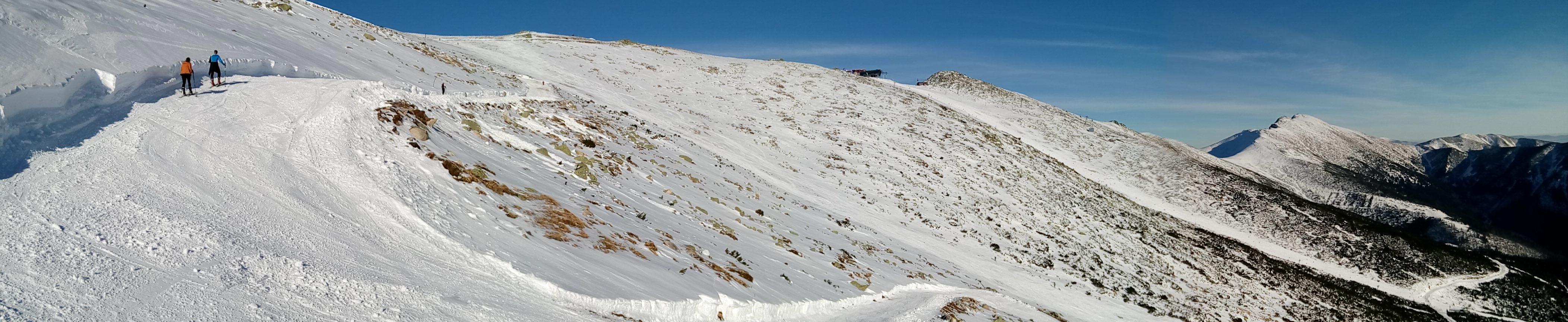 Predne and Zadne Derese still need more snow
