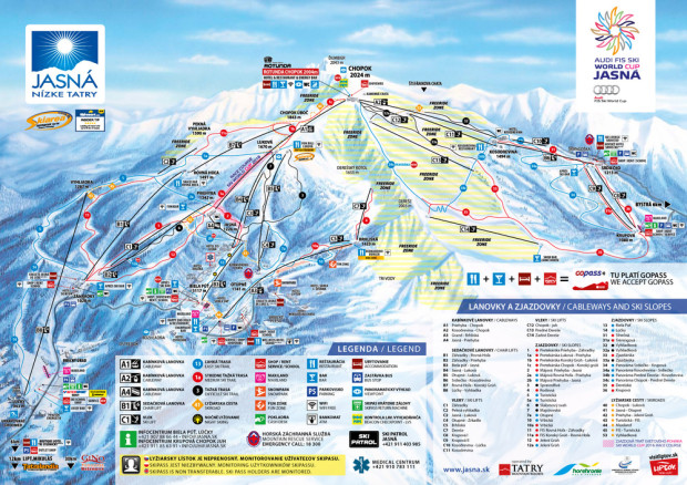 Trail and freeride map (jasna.sk)