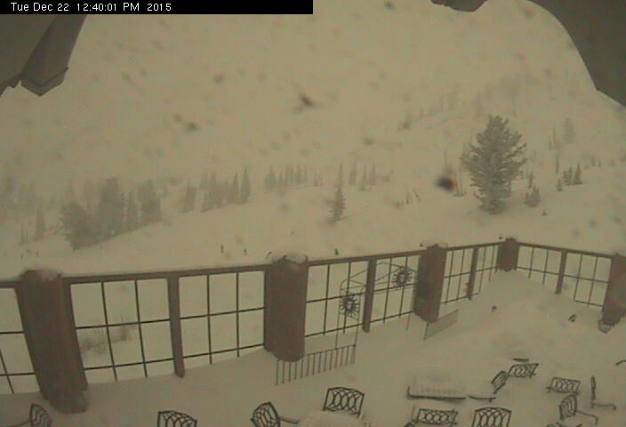 Snowbasin, UT today at 11:45am