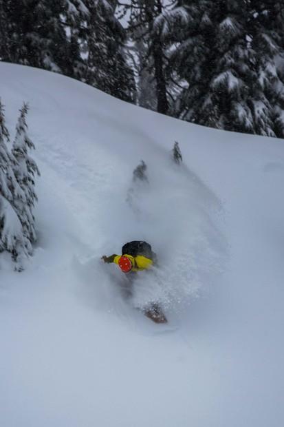 Mt. Bachelor, OR on December 13th, 2015. photo: julian hanna/snowbrains