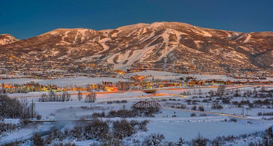 Steamboat Springs, CO this season. photo: jason pruett