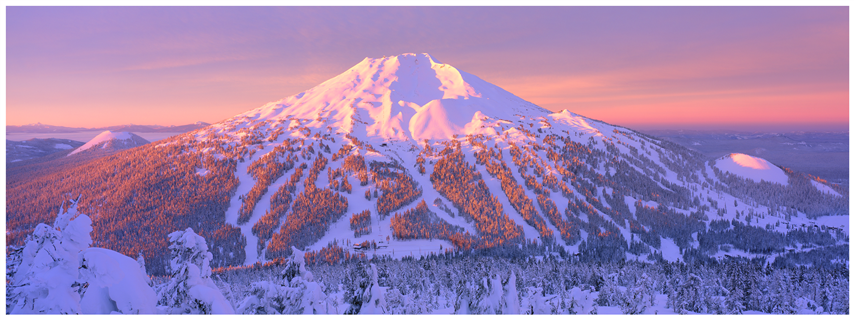 Mt. Bachelor, OR at sunrise.