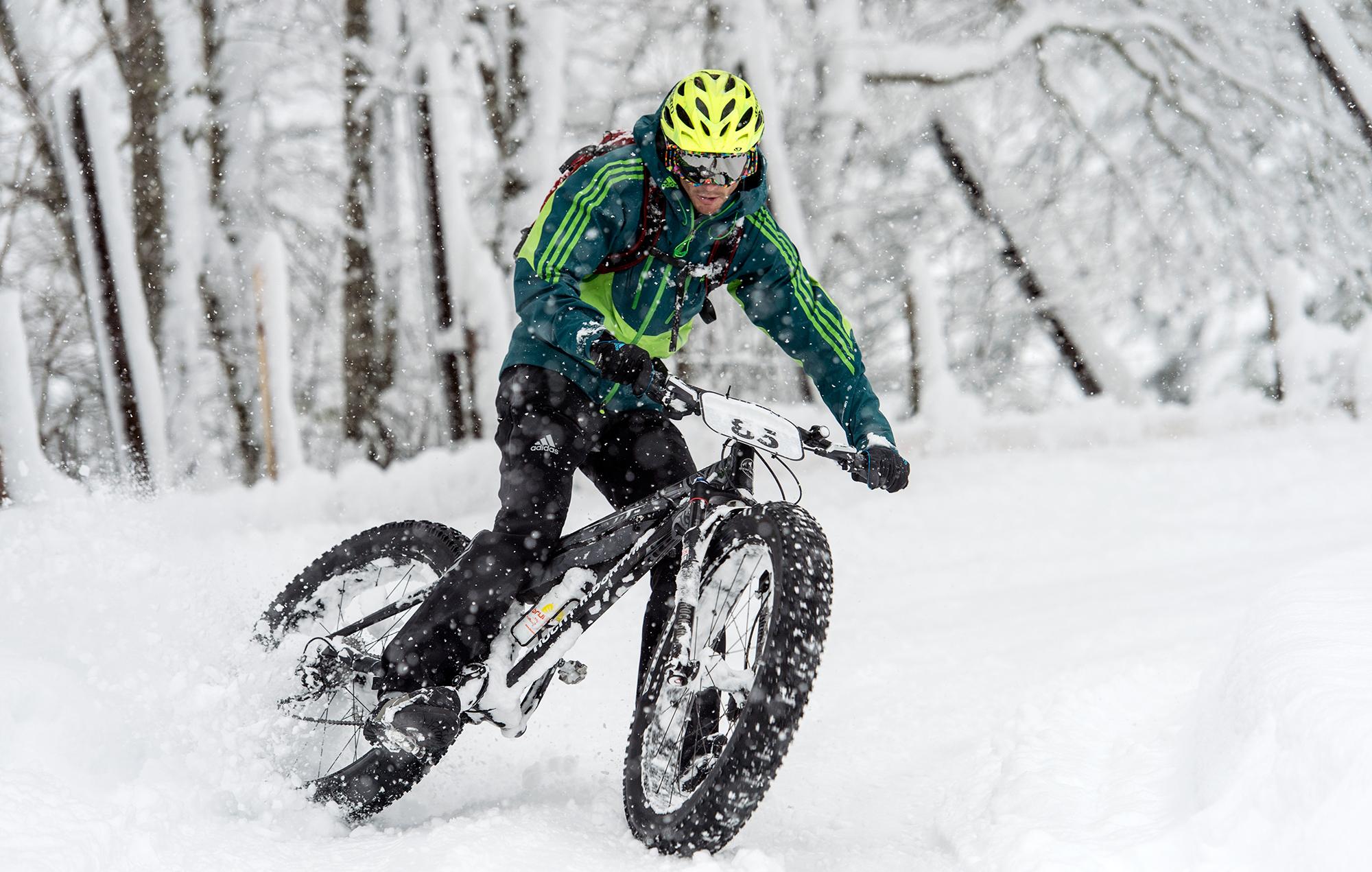 mountainbike snow winter extreme - photo #28