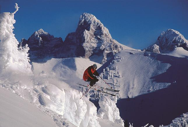 The History Of Grand Targhee Ski Area WY Old School Photo Tour - Grand targhee resort