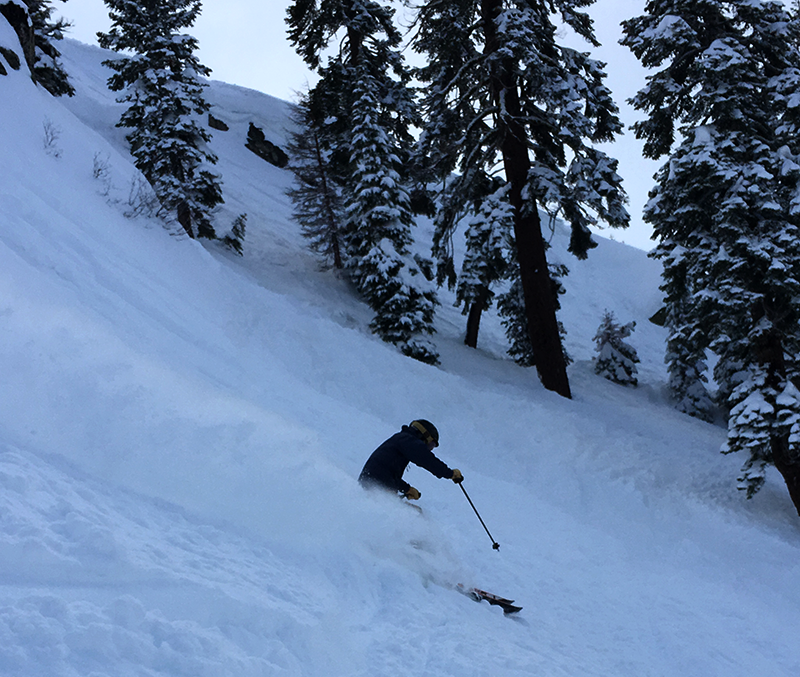 The slot squaw valley