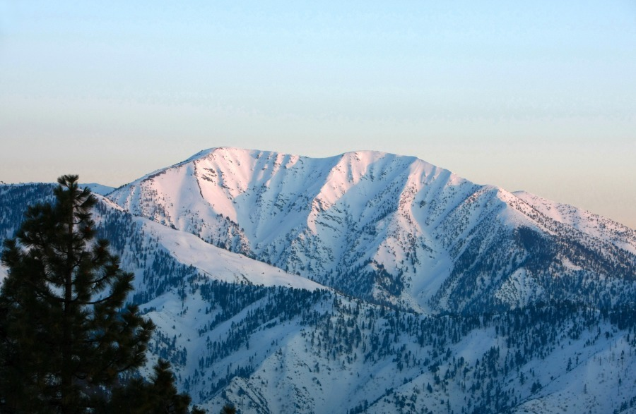 10,064-foot Mt. Baldy, CA on March 14th, 2010.  photo:  youngsphotogallery.com
