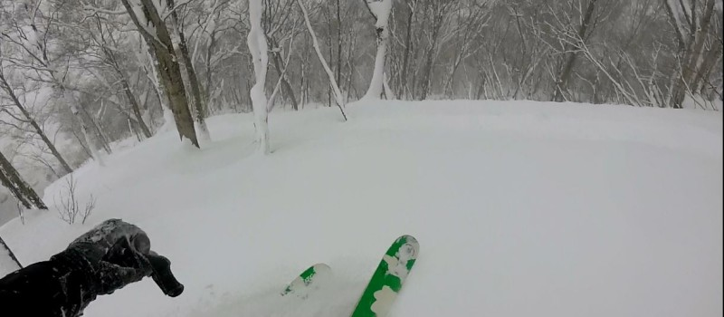 Japan is know for deep powder tree skiing and the hype is real