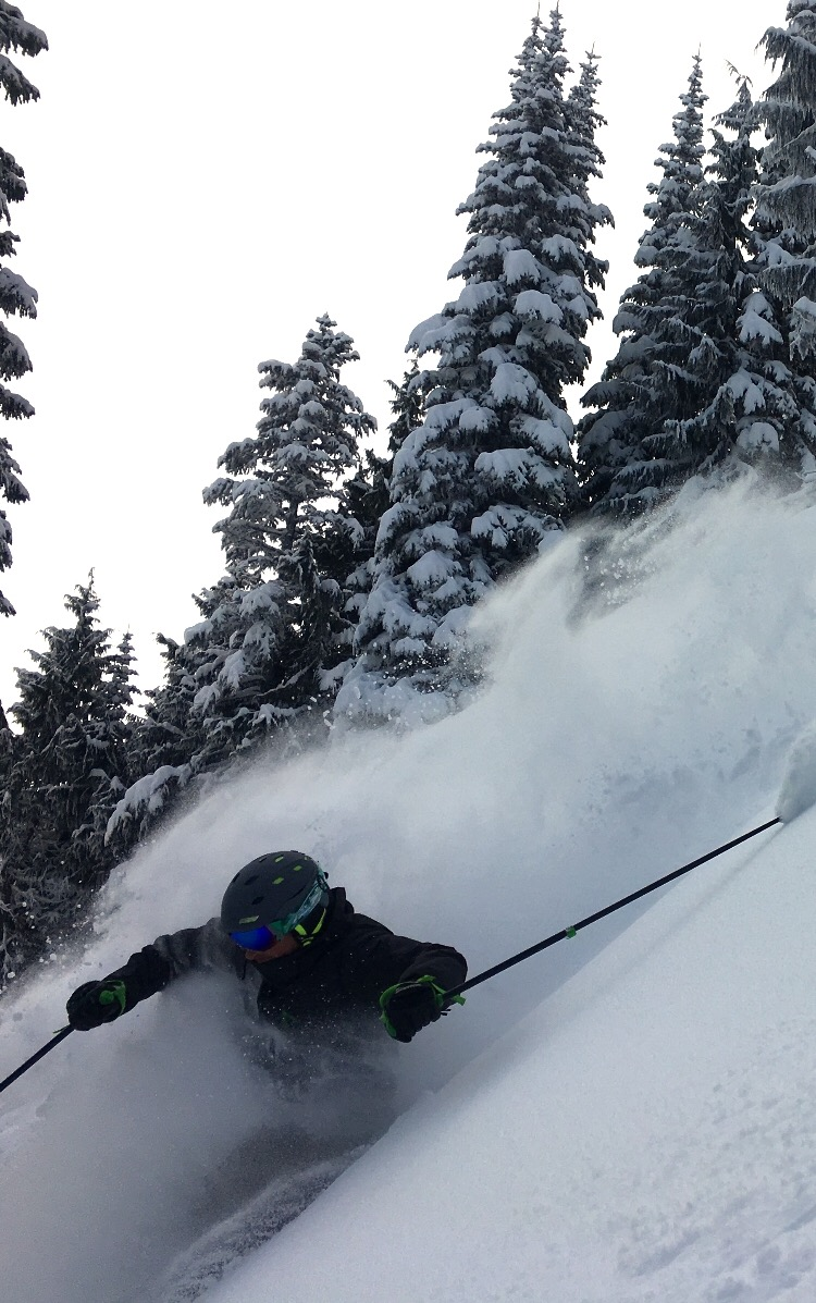 WOOOOT!! Mt. Baker, WA on 1/30/16 Photo: Berry Moorhead/snowbrains