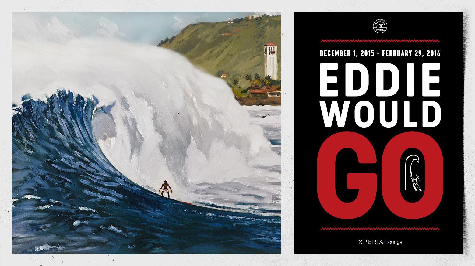 Video Highlights From Eddie Aikau Big Wave Surf Comp Yesterday