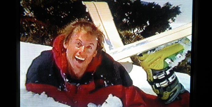 Robb Gaffney in the greatest ski movie of all time:  1999.