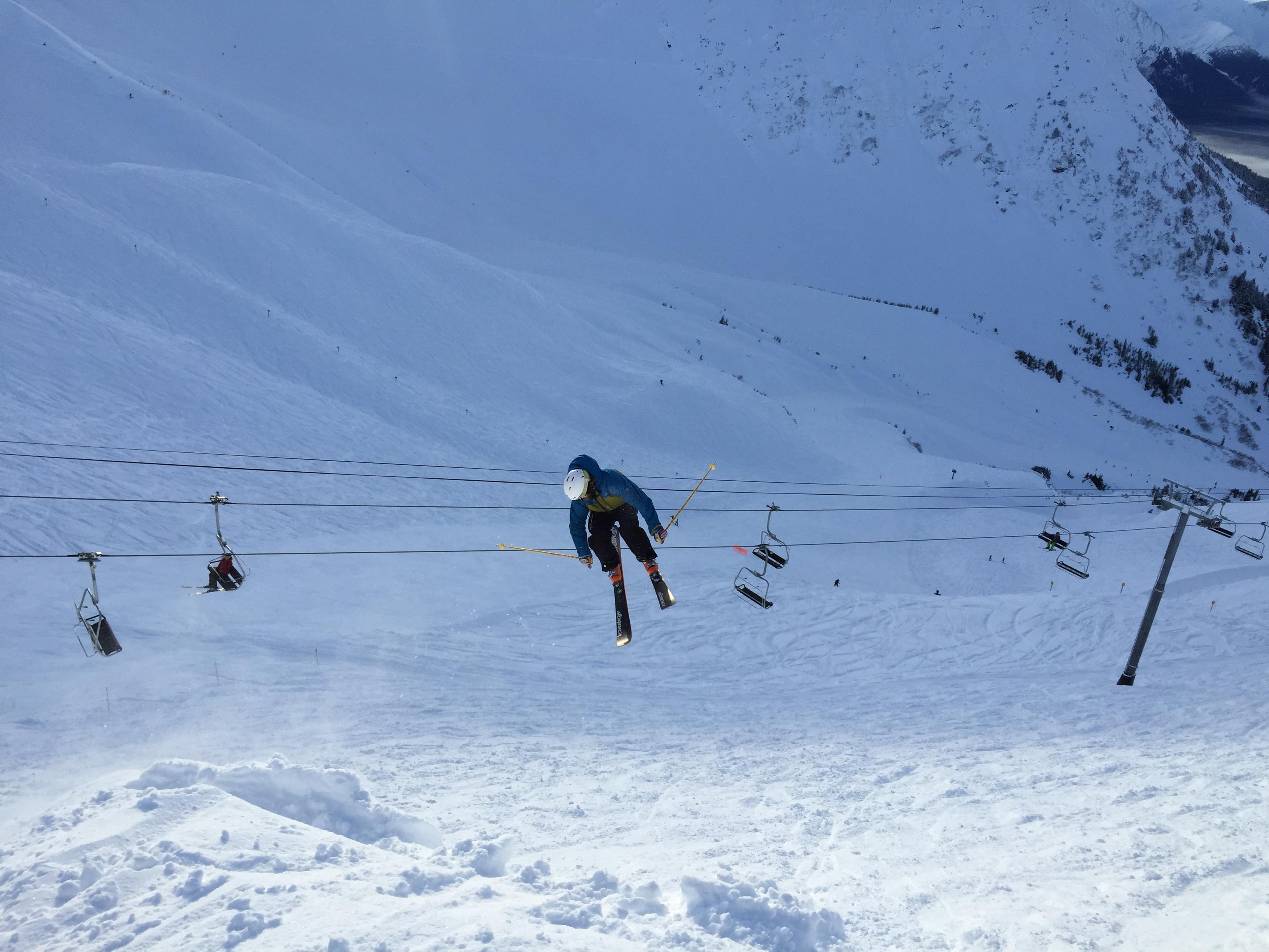 alyeska resort, ak = only ski resort to break 500-inches of snowfall