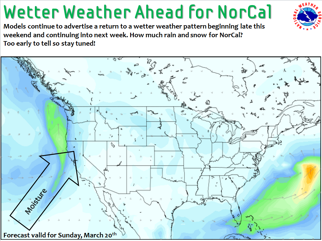 Weather For Sunday : Noaa snow to return california this weekend early