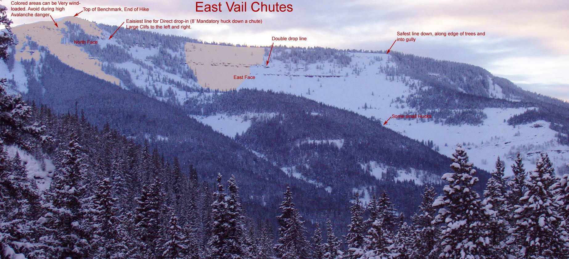 Video avalanche throws skier off 50 foot cliff in east for Chair 4 cliffs vail
