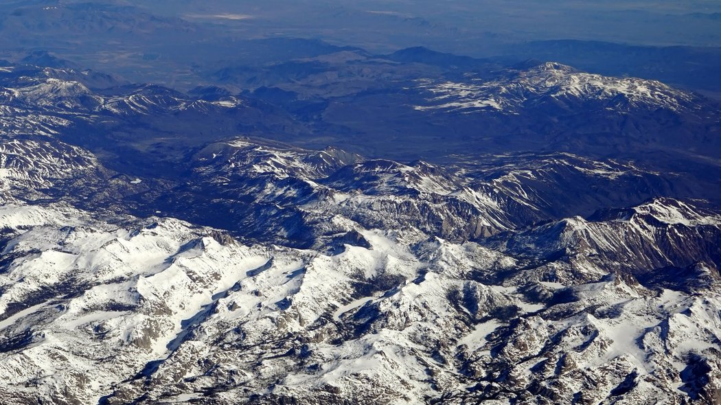 The Sierra Nevada last week. photo: henry fountain/new york times