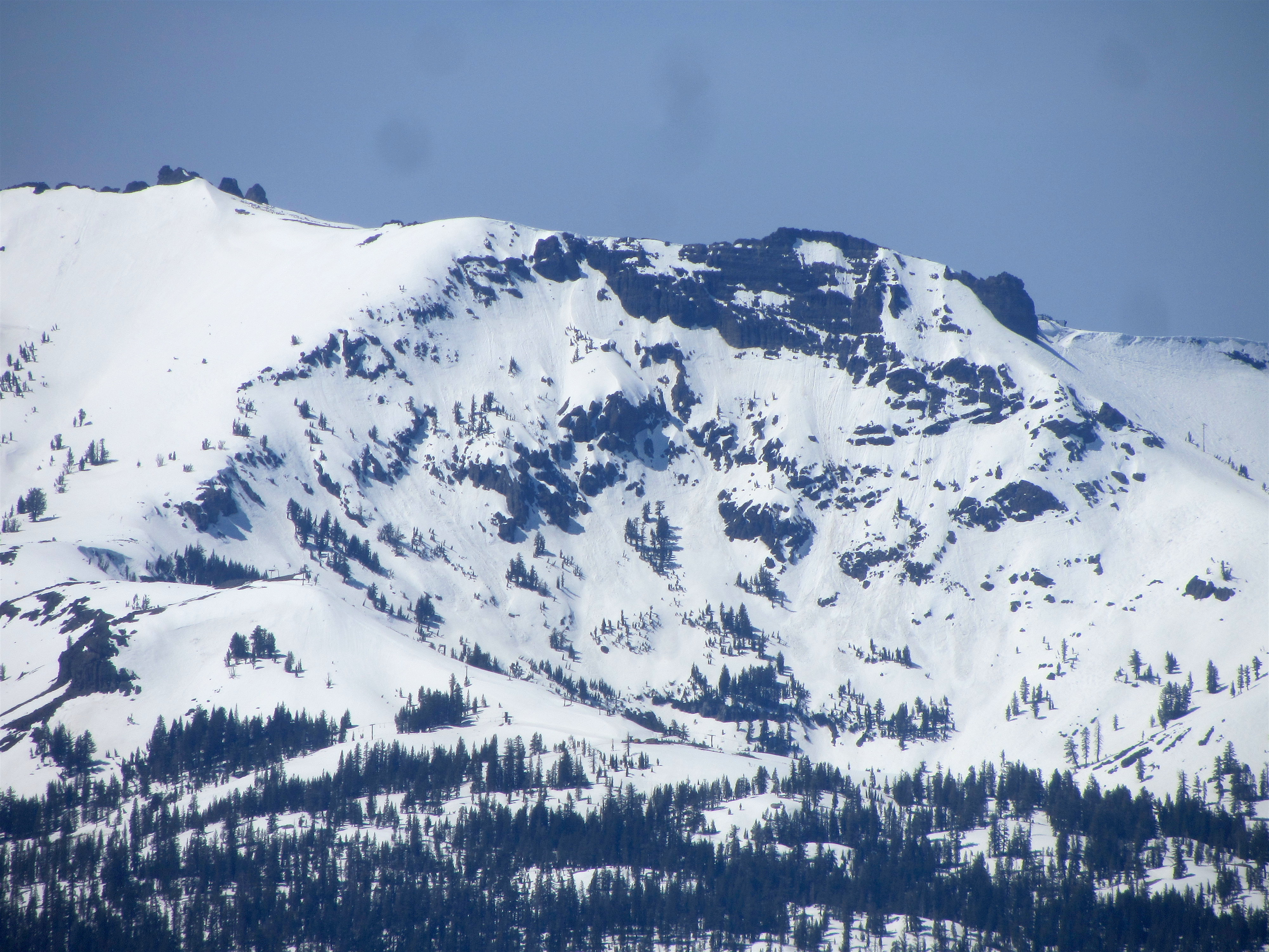 Kirkwood's Cirque is looking good and is open daily the rest of the season.