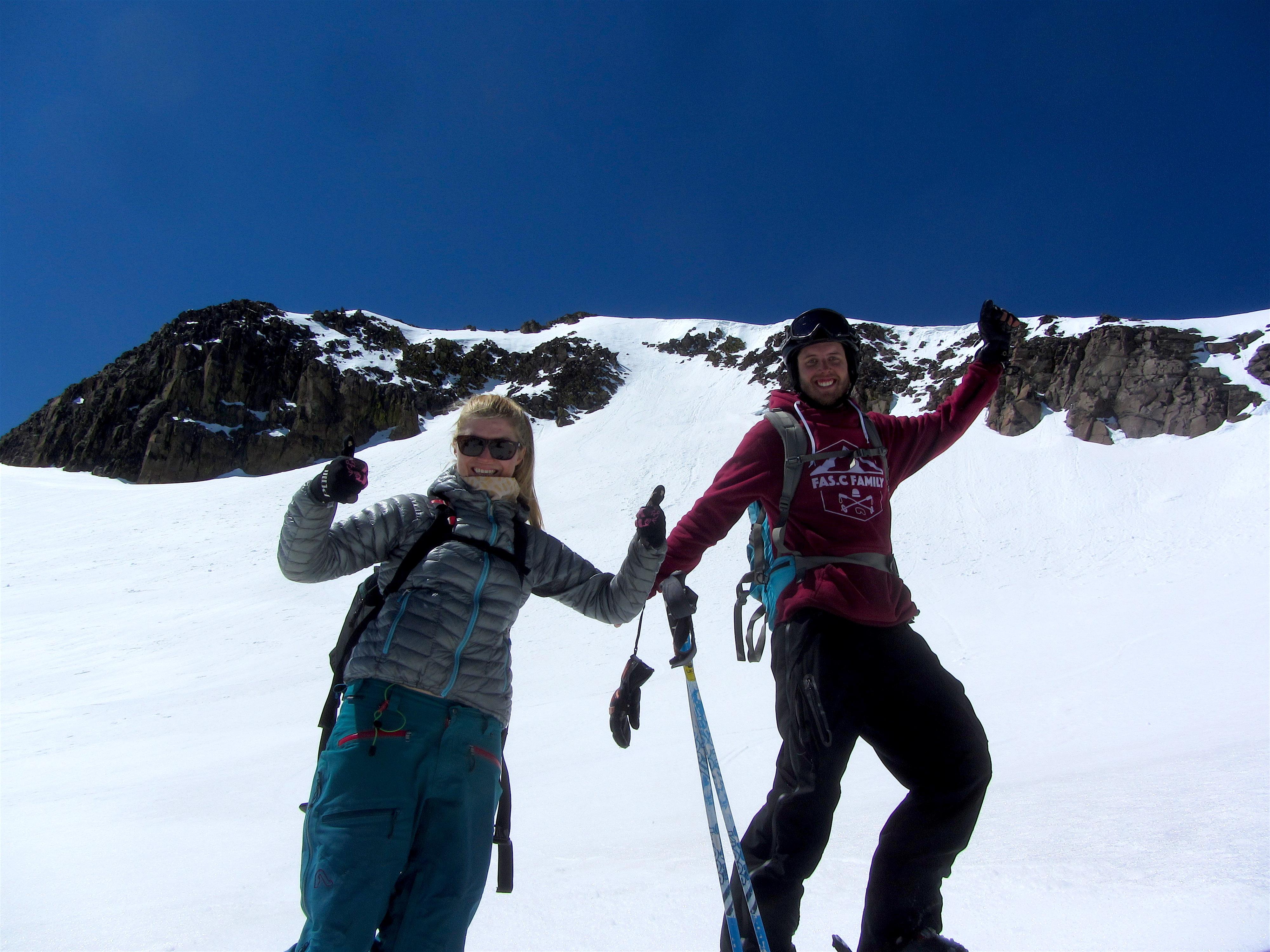 Post ski stoke. photo: miles clark/snowbrains