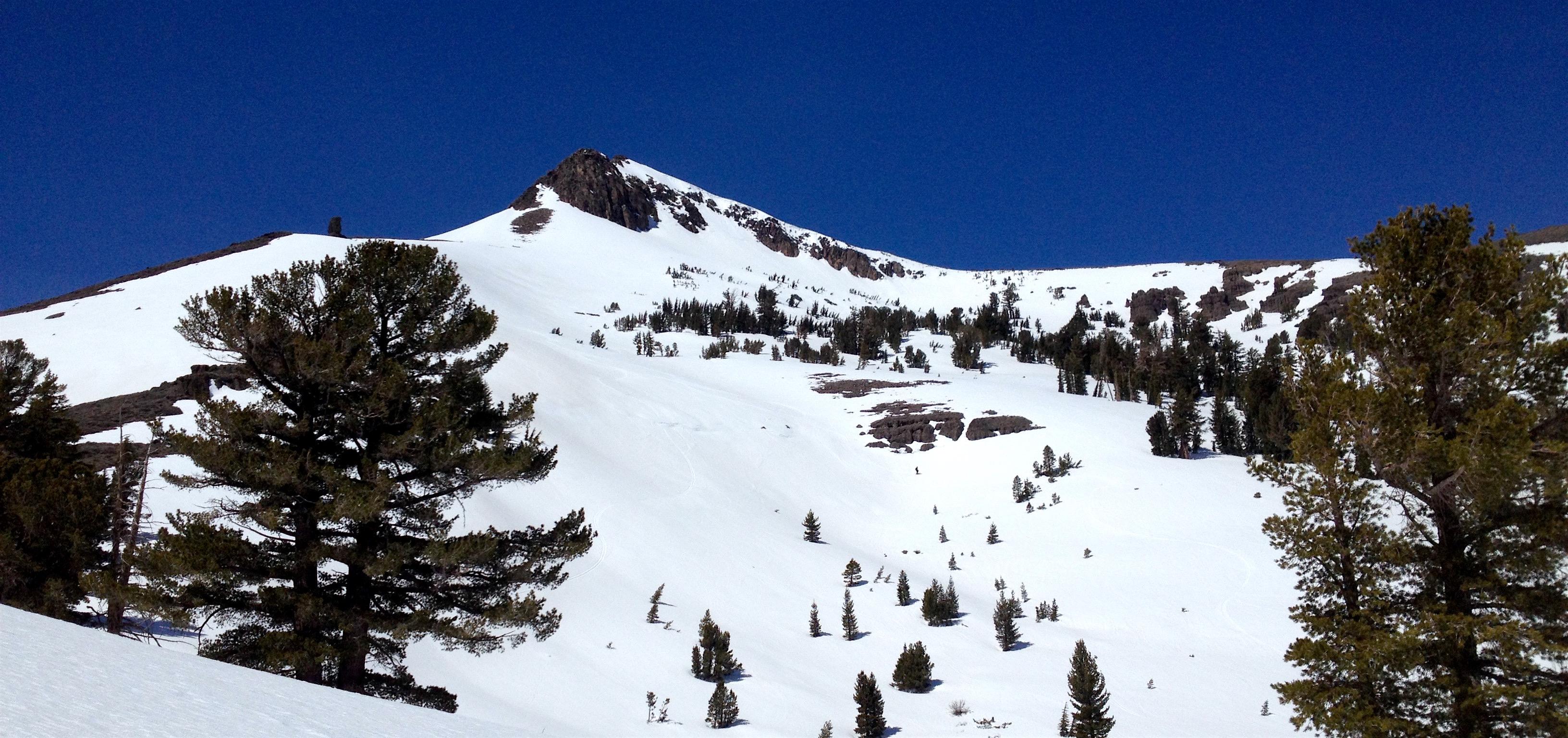 Stevens Peak today. photo: miles clark/snowbrains