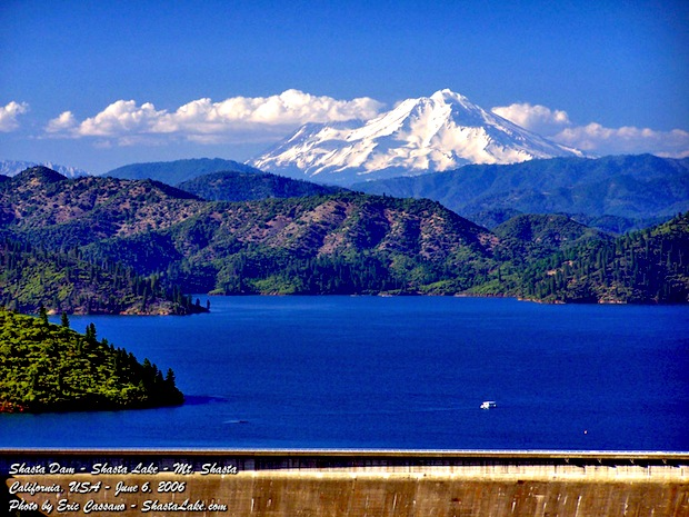 Mt Shasta Ca >> The 2 Largest Reservoirs in California are Above 90% Full ...