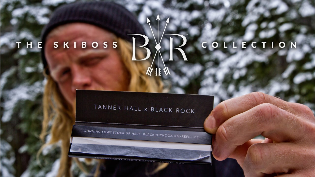 Tanner showcases his new rolling paper line in collaboration with Black Rock Originals