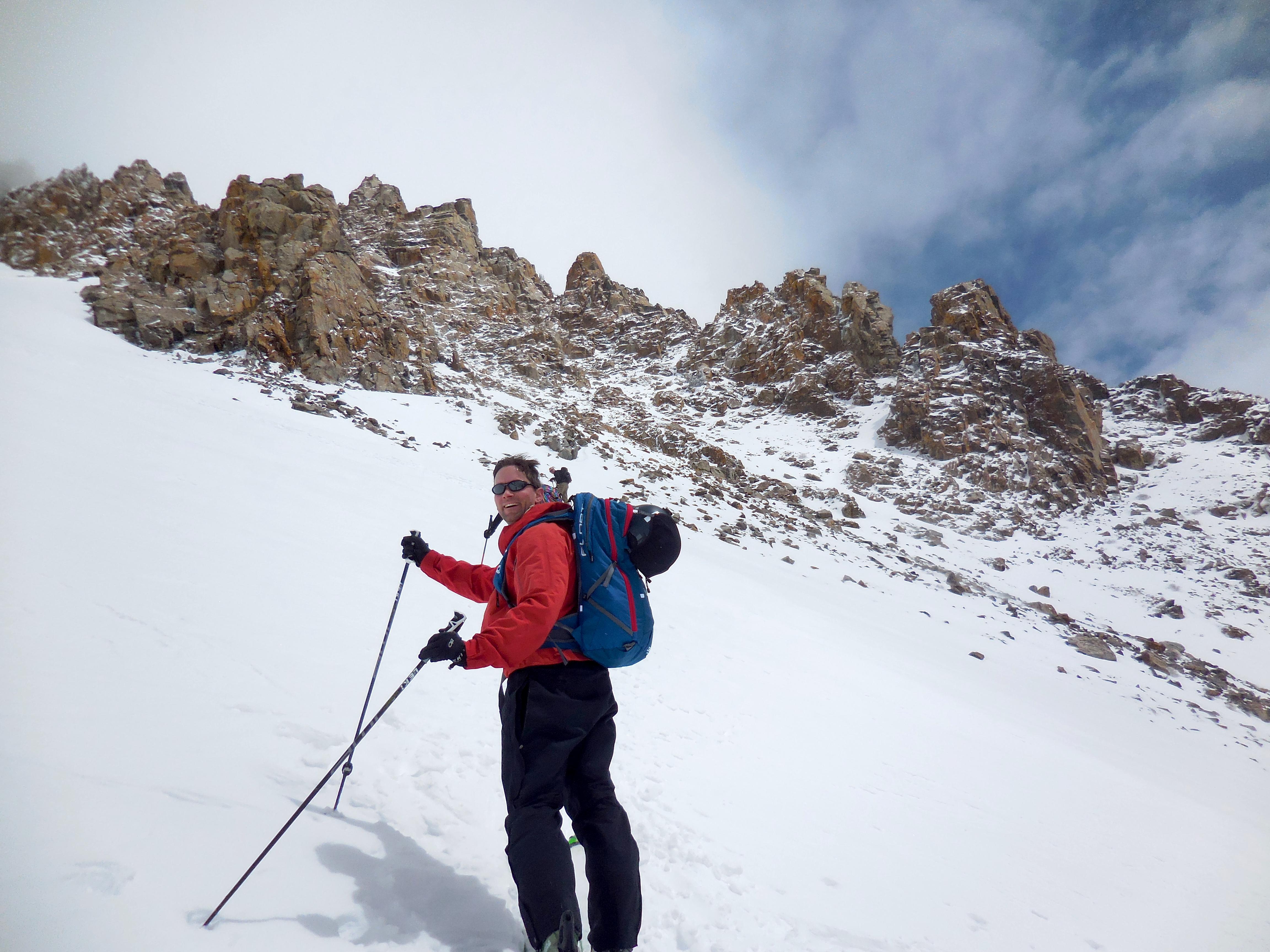 Dwanis loving the up. photo: miles clark/snowbrains