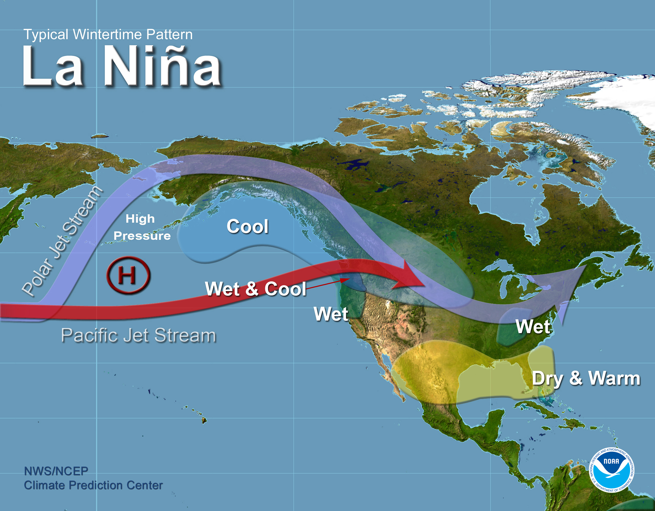 NOAA's Official May La Nina Update: Everything You Need to Know About The Coming La Nina - SnowBrains