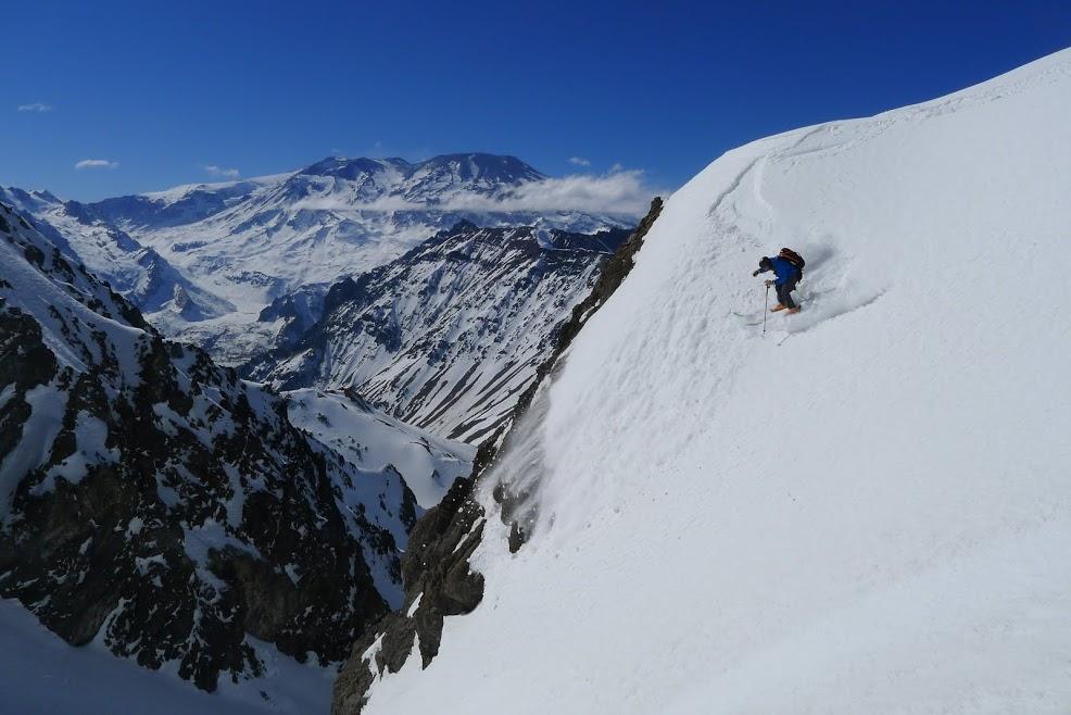 Steep terrain, gorgeous views. image: powder south