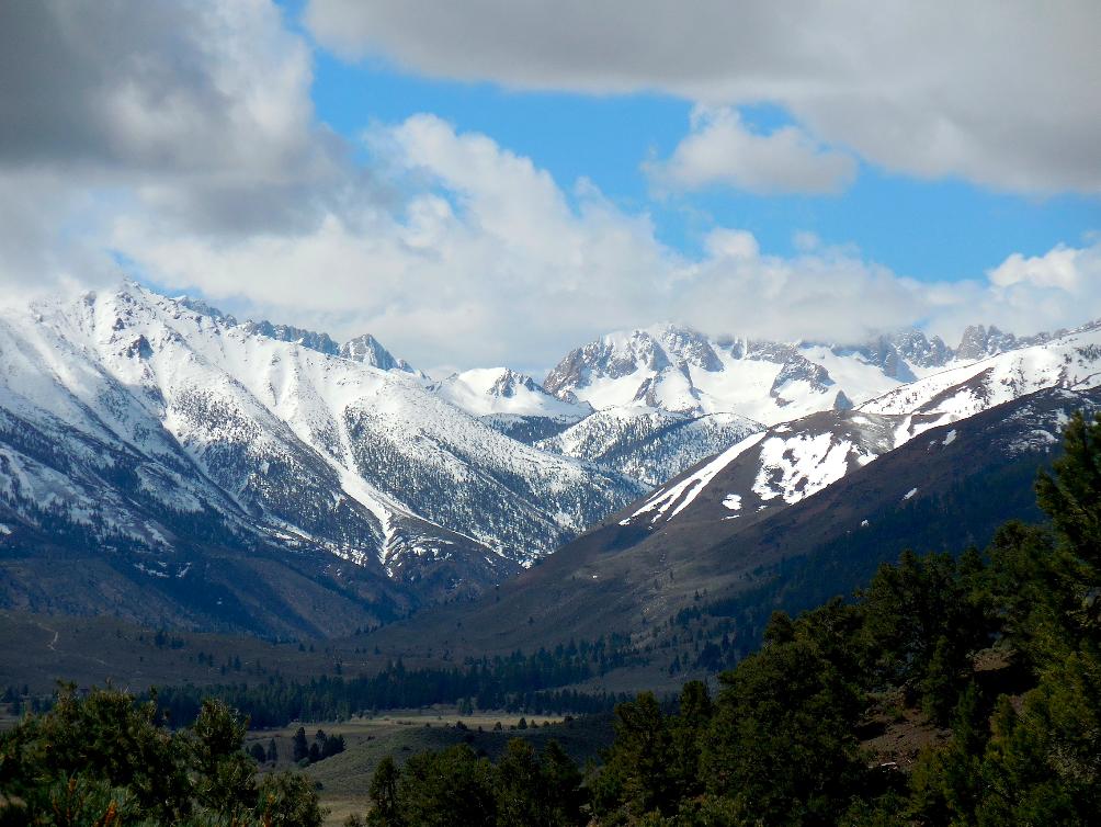 Sawtooth Ridge on Sunday.   photo: miles clark/snowbrains