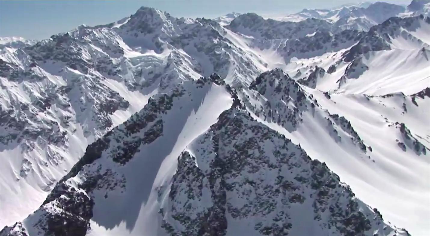Yes, Powder South skis this peak. image: powder south