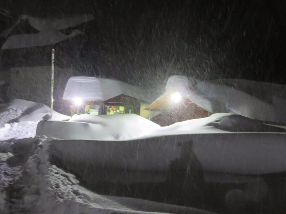 Valle Nevado, Chile last night. photo: valle nevado