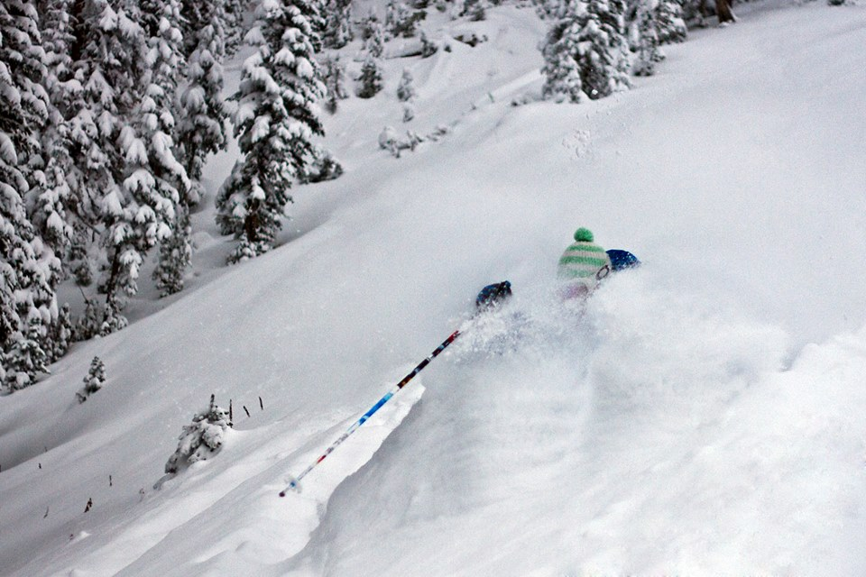 Powder like this at Jackson Hole, WY comes at a price... image: jackson hole