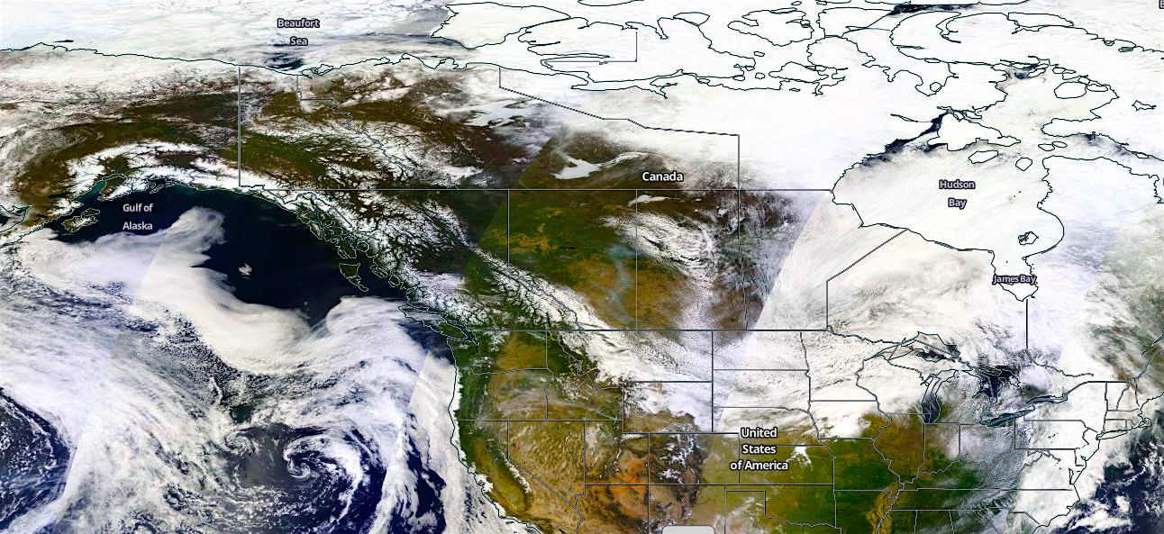 Record Low Snow Cover in North America + Record Low Arctic ...