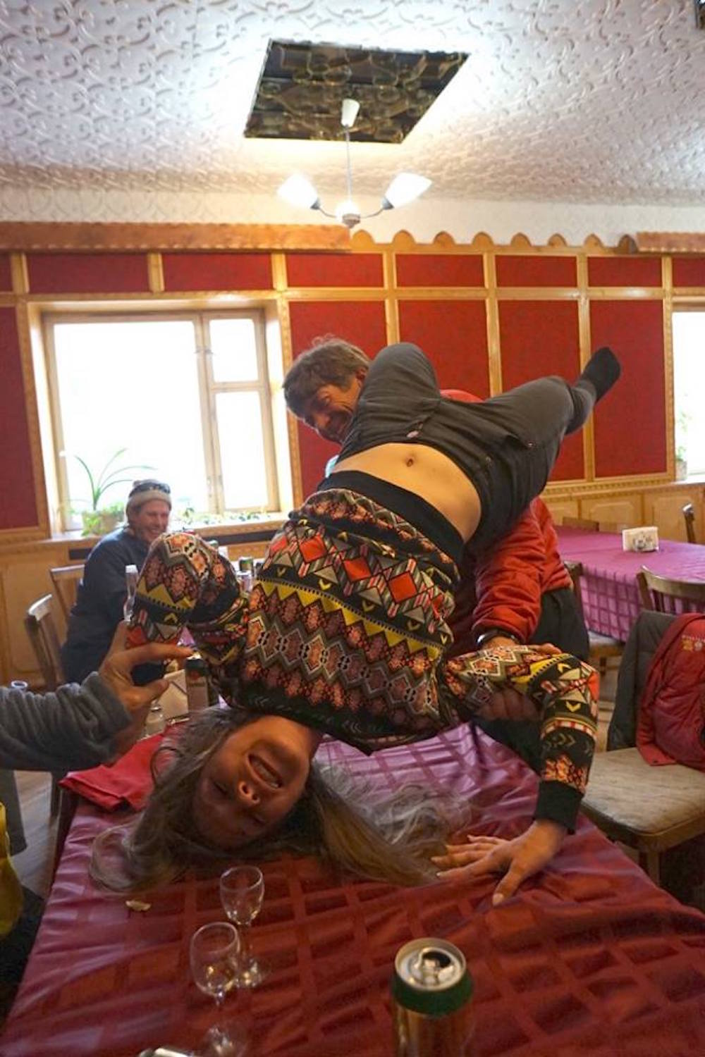 Yes, things got a little wild in Pyramiden... There may or may not have been spanking... photo: paul