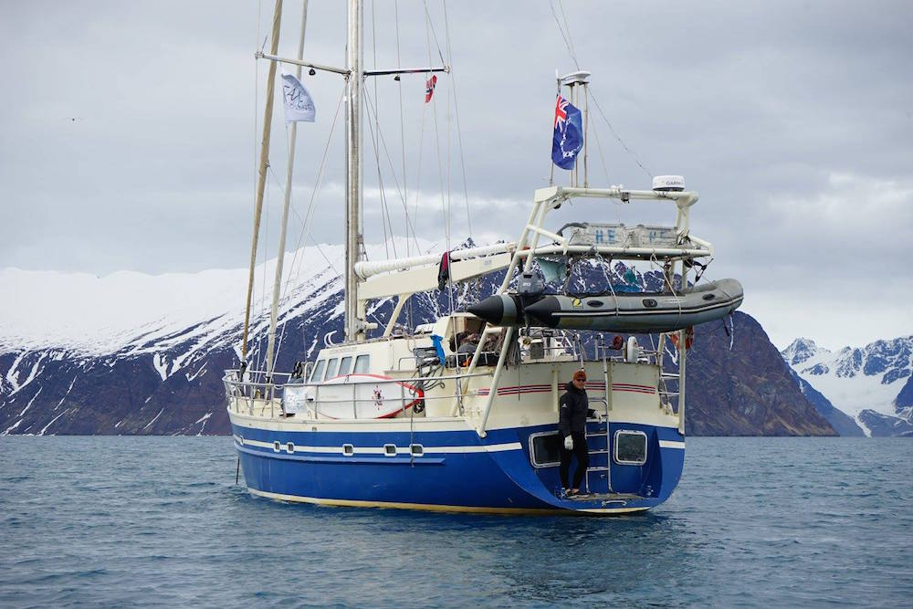 The Arctica II is home. photo: paul