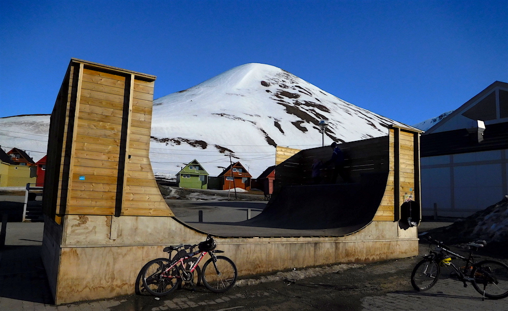 The #1 feature in Longyearbyen. photo: snowbrains