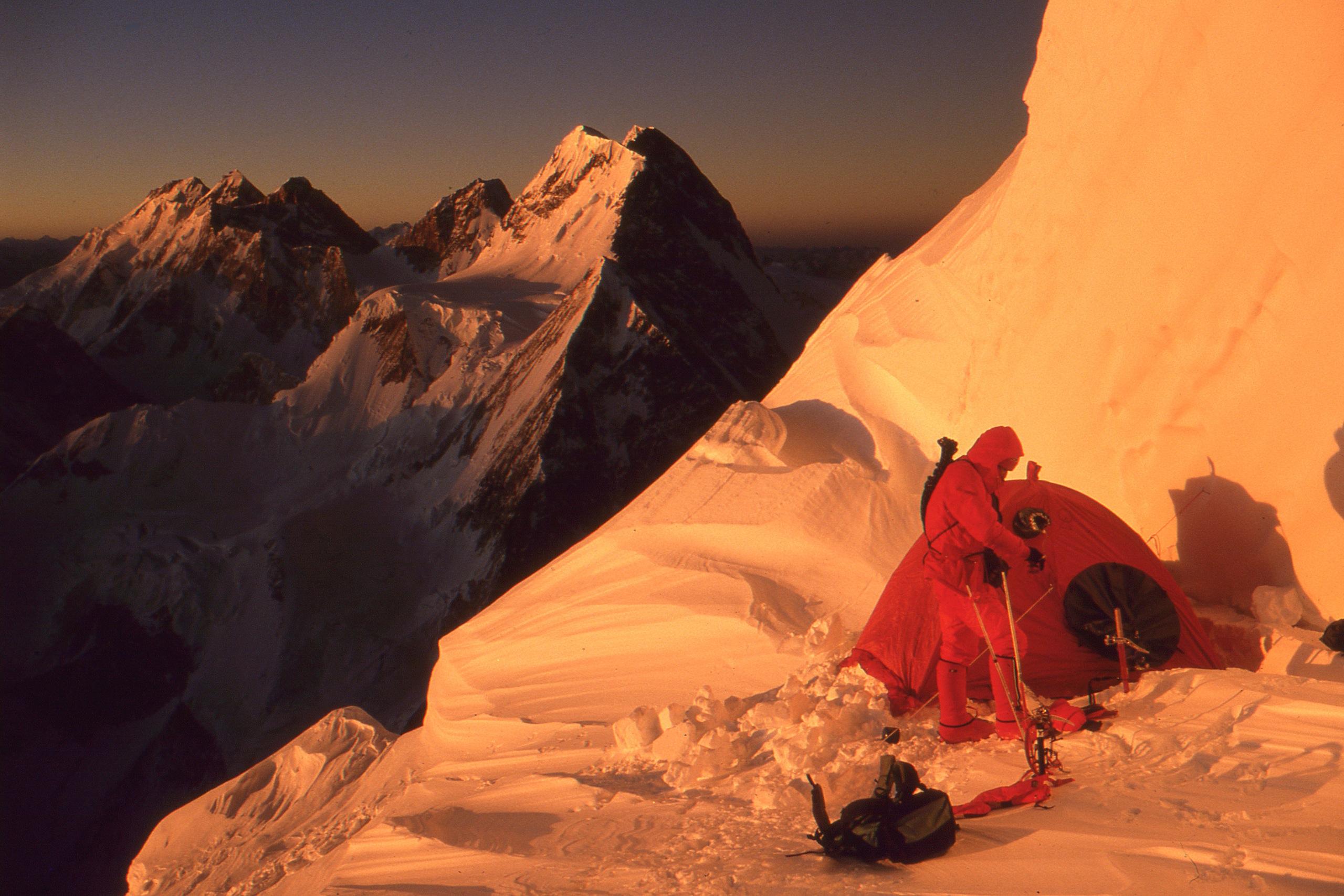 23,760' Camp III on K2.