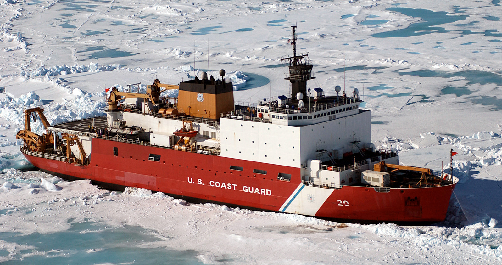 Video The Sights Amp Sounds Of Ice Breaking Us Coast