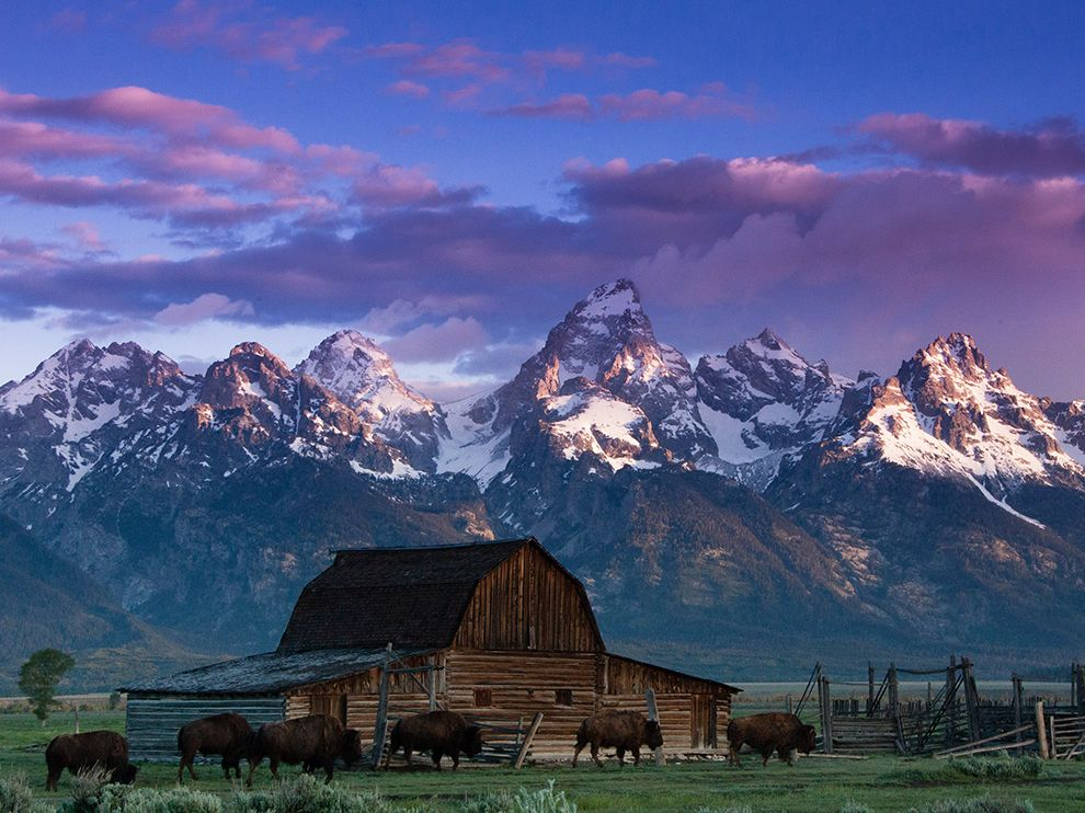 The Grand Teton, WY. image: national geographic