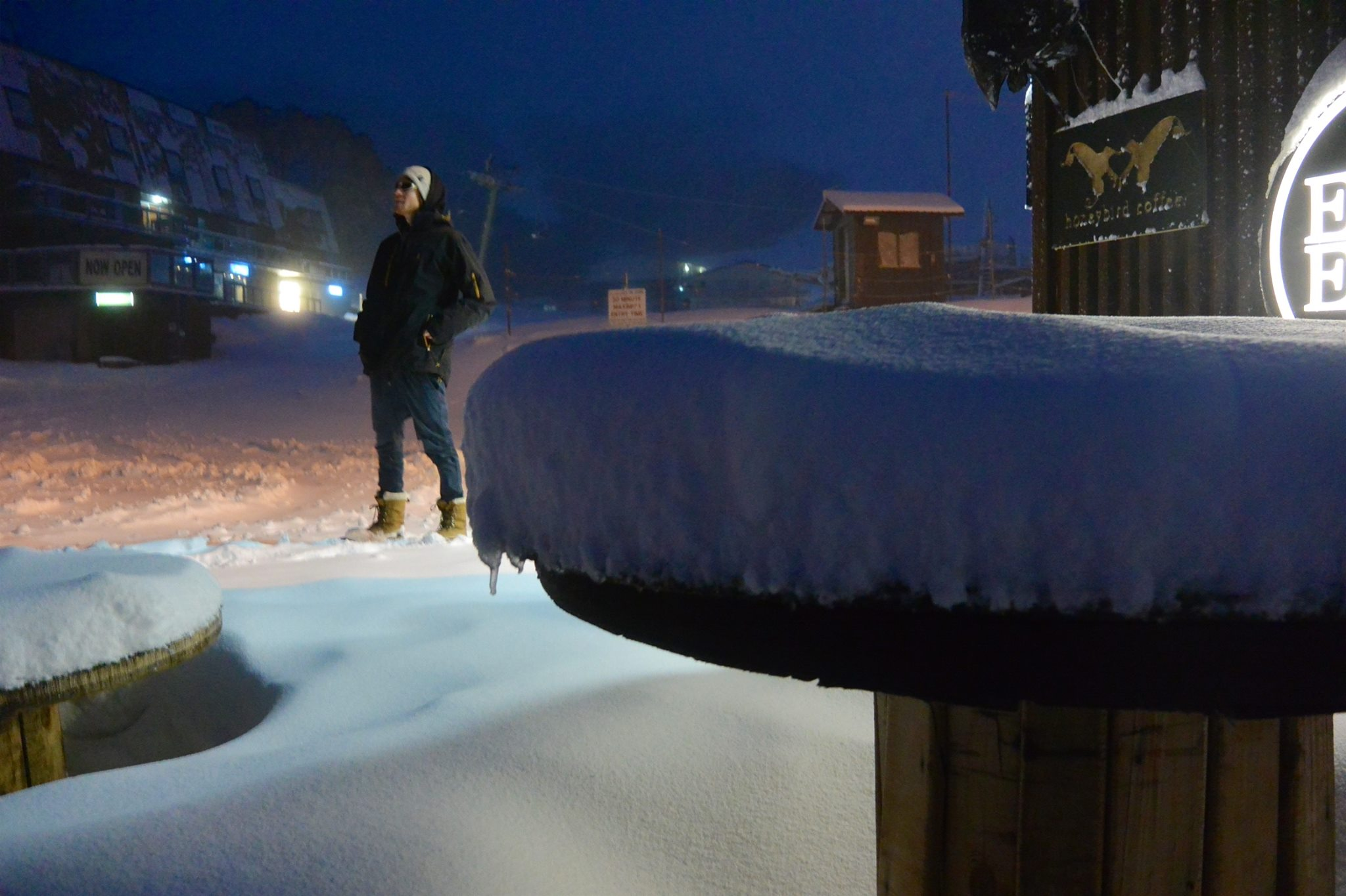 Falls Creek, Australia August 20th. photo: falls creek