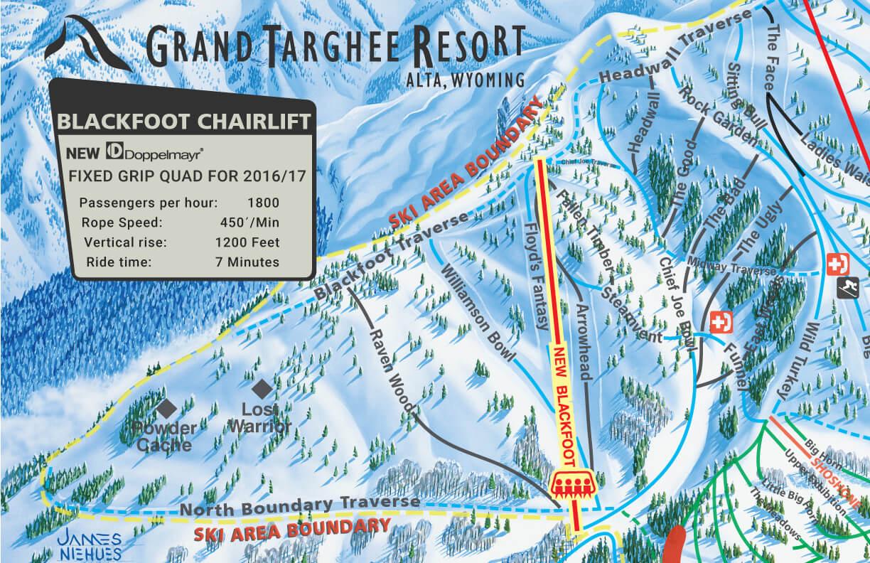 US Ski Resorts Put In New Ski Lifts This Summer SnowBrains - Map of us ski resorts
